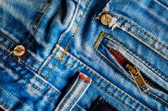 Denim Pants Elements as Background Stock Photos