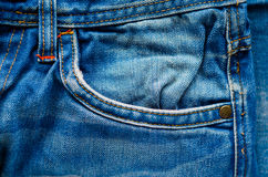 Denim Pants Elements as Background Stock Photography