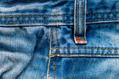 Denim Pants Elements as Background Royalty Free Stock Images