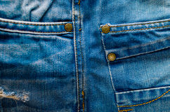 Denim Pants Elements as Background Royalty Free Stock Photo