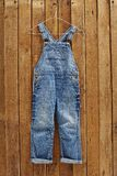 Denim pants Royalty Free Stock Photo