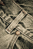 Denim pants rib close up Royalty Free Stock Images