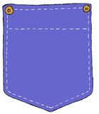 Denim Pocket Royalty Free Stock Photos