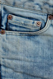 Denim pocket Royalty Free Stock Image