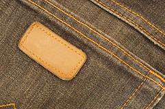 Denim pocket Royalty Free Stock Photography
