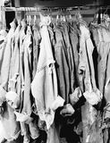 Denim shirts Camden. Koo style denim shirts Camden london Royalty Free Stock Photo