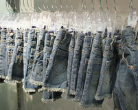 Denim short Royalty Free Stock Images