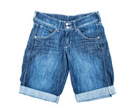 Denim shorts Stock Photos