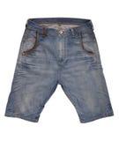 Denim shorts Royalty Free Stock Photos
