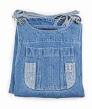Denim skirt pocket Royalty Free Stock Image
