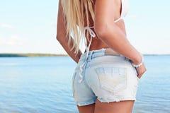Denim summer Stock Images