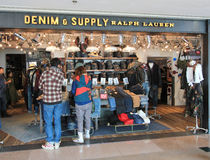 Denim and Supply Ralph Lauren shop in Hong Kong Royalty Free Stock Image