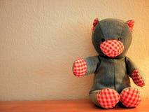 Denim Teddy Bears Stuffed Animals Photos libres de droits