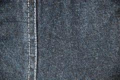 Denim textielachtergrond Royalty-vrije Stock Afbeelding
