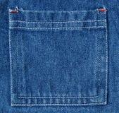 Denim textielachtergrond Stock Fotografie