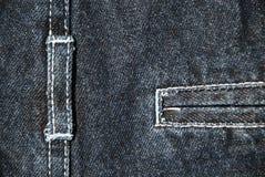 Denim textile background Royalty Free Stock Photos