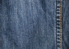 Denim textile background Stock Photo