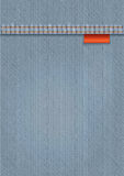 Denim Textile Template Royalty Free Stock Images