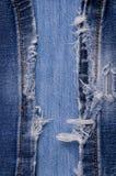 denim Textura de pantalones vaqueros fotografía de archivo libre de regalías