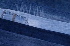 denim Textura de pantalones vaqueros foto de archivo libre de regalías