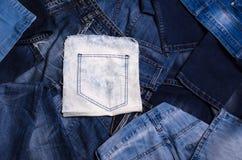denim Textura de pantalones vaqueros imagen de archivo libre de regalías