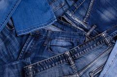 denim Textura de pantalones vaqueros fotos de archivo libres de regalías