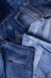 denim Textura de pantalones vaqueros foto de archivo