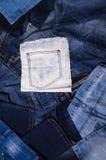 denim Textura de pantalones vaqueros imagenes de archivo
