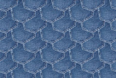 Denim texture background Royalty Free Stock Photos