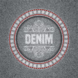 Denim texture background Stock Images
