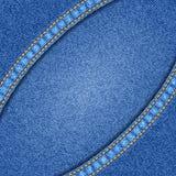 Denim texture background Stock Photos