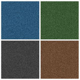 Denim texture in four common colors. Denim texture in blue,green,brown and black Royalty Free Stock Photos