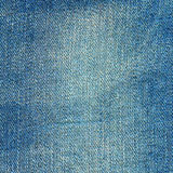 Denim texture. Light blue jeans background Royalty Free Stock Photography