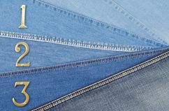Denim texture Royalty Free Stock Images