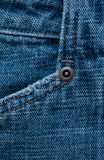 Denim texture with rivets for background Stock Photos