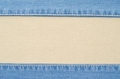 Denim texture Royalty Free Stock Photos