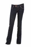 Denim trousers Stock Image