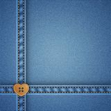 Denim vector background Stock Photo