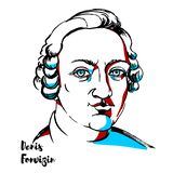 Denis Fonvizin Portrait libre illustration