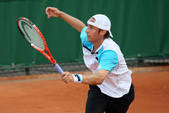 Denis Gremelmayr (GER) at Roland Garros 2011 Royalty Free Stock Photos