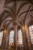 denis katedralny święty katedralny wewnętrzny Paris Obraz Stock
