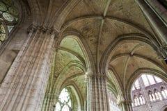 denis katedralny święty katedralny wewnętrzny Paris Zdjęcia Stock