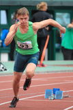 Denis Kudryavtsev - athlete Royalty Free Stock Images