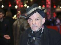 Denis Lavant atende ao ` 3 dias no ` de Quiberon Fotos de Stock Royalty Free