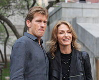 Denis Leary and Ann Lembeck Leary Stock Image