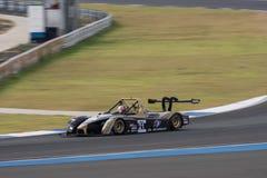 Denis Lian av den Avelon formeln i den asiatLe Mans serien - lopp på 2 Royaltyfri Fotografi
