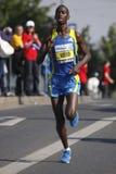 Denis Musembi Ndiso in Prague marathon Royalty Free Stock Photography