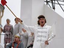 Denis Sedov w operze Ruslan i Lyudmila Zdjęcie Stock