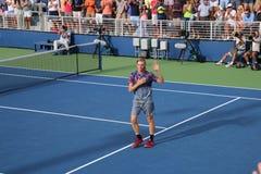 Denis Shapovalov. Tennis player Denis Shapovalov at the US Open Royalty Free Stock Image