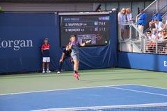 Denis Shapovalov. Tennis player Denis Shapovalov at the US Open Royalty Free Stock Photos